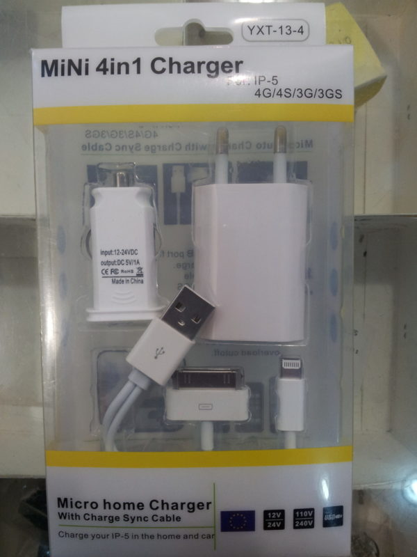 YXT-13-4 LINQ MINI 4 IN 1 CHARGER-0