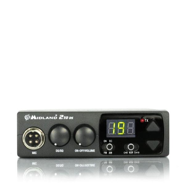 MIDLAND 210 DS - CB Veicolare Multibanda-0