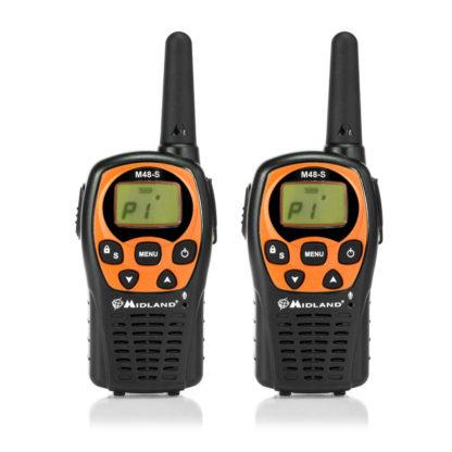 M 48-S - PMR446 coppia ricetrasmittenti-0