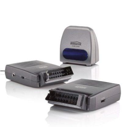 """MiniTrasmettitore di segnale audio video + telecomando 2,4ghtz modello """"scart""""-0"""