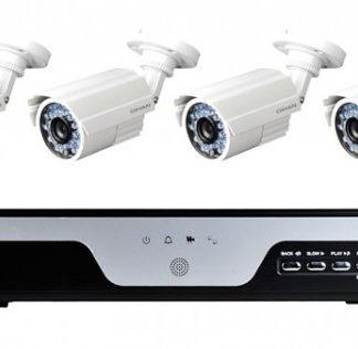 Kit di videosorveglianza DVR 4ch AHD 4 Camere AHD-0