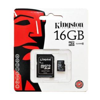 MICROSD 16GB KINGSTON CL10-0
