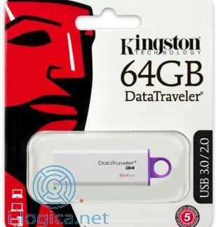 PENDRIVE 64GB KINGSTONUSB3 -0