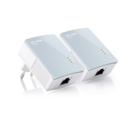 TP-LINK TL-PA411KIT Starter Kit con Adattatore Mini Powerine AV500, powerline-0