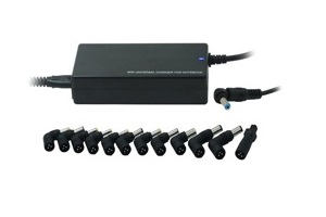 UPTOWN Alimentatore rete Notebook 100W 15-16-18.5-19V attacchi ad angolo (HP Model) -0