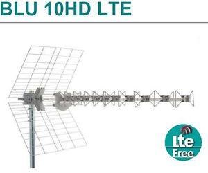FRACARRO BLU10HD LTE ANTENNA UHF PER DIGITALE TERRESTRE CON FILTRO SAW 217909-0