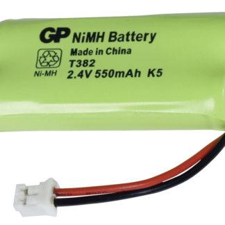 Batterie per telefoni cordless NiMH 2.4 V 550 mAh-0