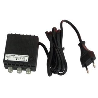 Alimentatore per amplificatore d'antenna 12V 200mA 2 out -0