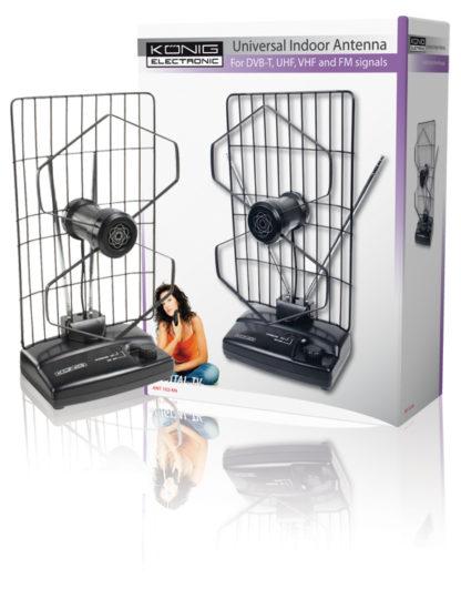 Antenna FM/TV da interno-0