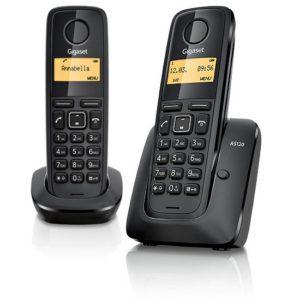 Gigaset AS120 DUO TELEFONO CASA CORDLESS FISSO COPPIA-0