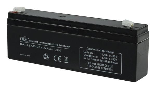 Batteria al piombo 12 V 2 Ah-0