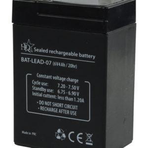 Batteria al piombo 6 V 4 Ah-0