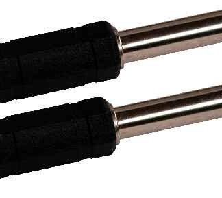 CA 8245 Coppia di raccordi da RCA a Jack 6,3mm mono ideale per collegare mixer ad amplificatori 5 COPPIE-0