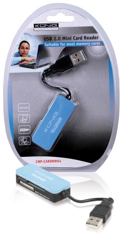 Mini lettore di memory card USB 2.0-0