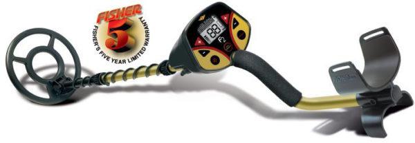 CERCAMETALLI METAL DETECTOR Fisher F2 con Pinpointer Copripiastra e Cuffie-0