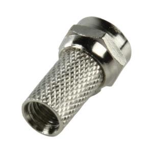 Connettore F di alta qualità a vite 5.00 mm conf 25 pz-0