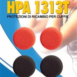 STOCK LOTTO 5 PEZZI HPA 1313T protezioni di ricambio per auricolari-0
