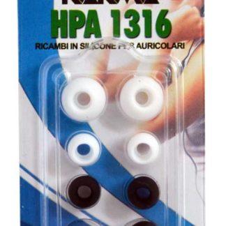 STOCK LOTTO 3 CONFEZIONI HPA 1316 ricambi per auricolari-0