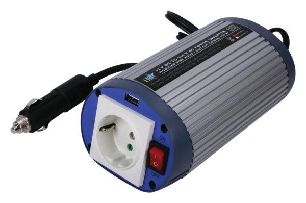 Inverter 12 - 230 V 150 W + USB-0