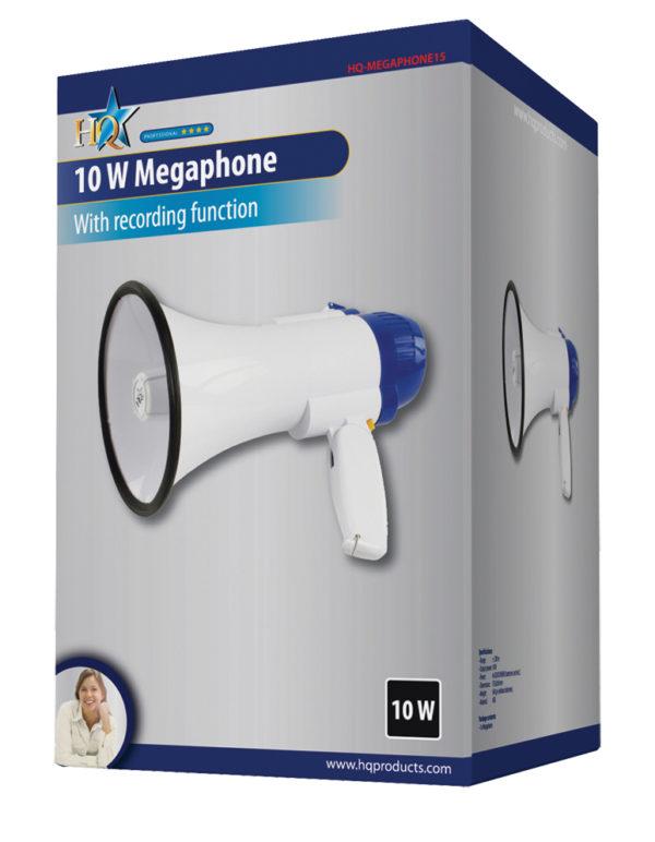 Megafono da 10 Watt con sirena-0