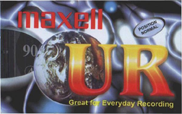 Audiocassetta da 90 min maxell confezione 5 pezzi-0