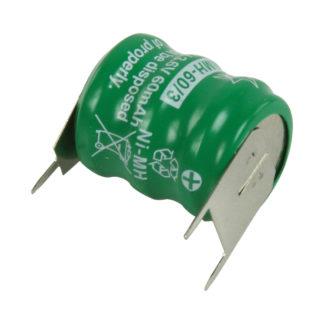 CONFEZIONE 2 PEZZI Pacco batterie NiMH 3.6 V 60 mAh-0