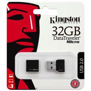 PENDRIVE 32GB KINGSTON MINI -0