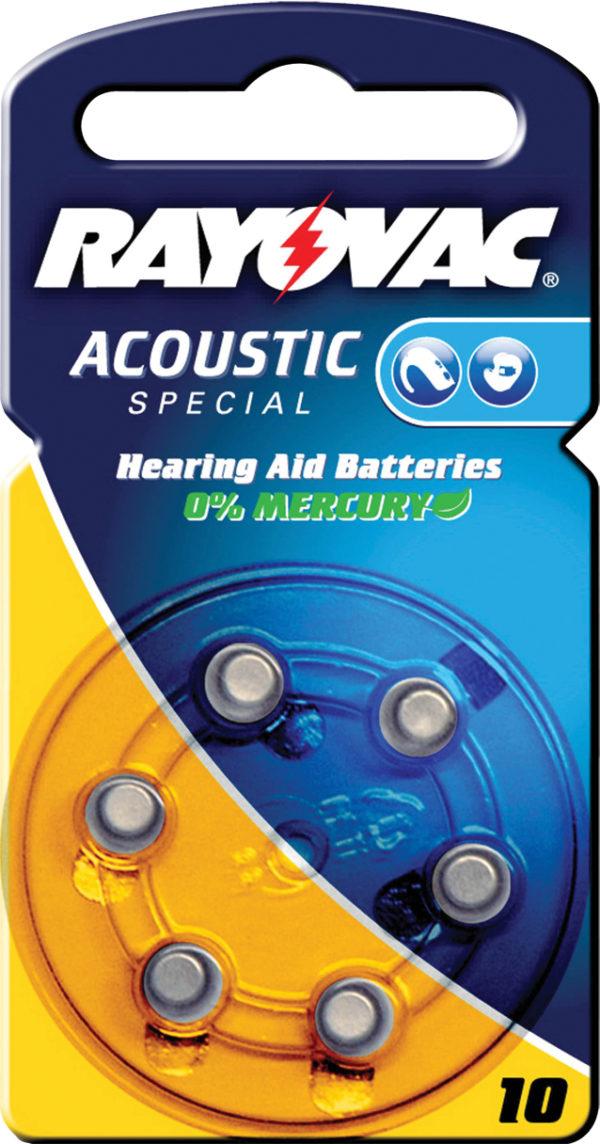 Batterie per apparecchi acustici 1.4 V 90 mAh 6 pz-0