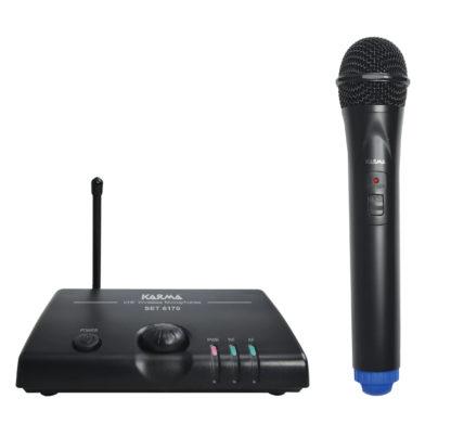 SET 6170D radiomicrofono palmare vhf-0