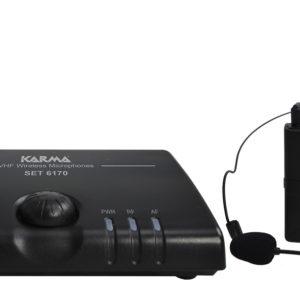 SET 6170LAV-C radiomicrofono ad archetto vhf-0