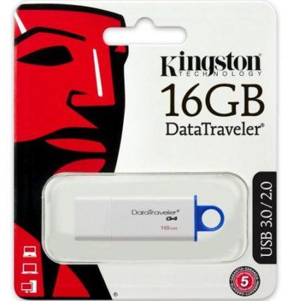 PENDRIVE 16GB KINGSTON USB3 -0