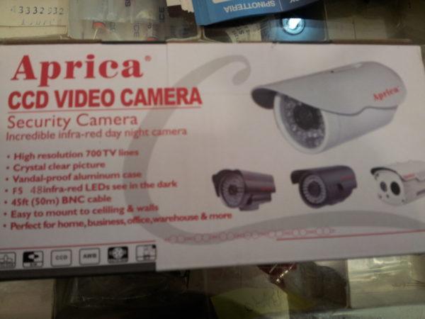 APRICA CCD VIDEO CAMERA 3.6MM 700TVL 48ir-led-0