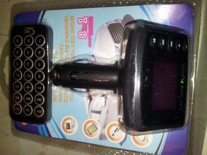 TRASMETTITORE CHIAVETTA USB MICROSD MP3 MP4 X AUTORADIO VIA FM-0