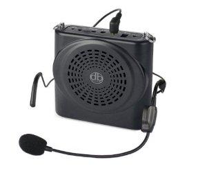 Voice Amplifier 12watts Black Portable, for Teachers, Coaches, Tour Guides, Presentations, Costumes, Etc-0