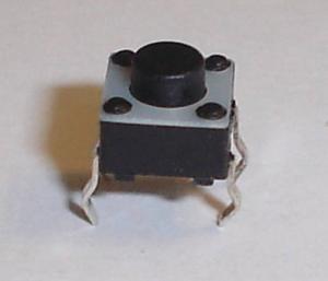 PULSANTE 4 PIN (6 X 6 X 5 MM) DA CIRCUITO STAMPATO-0