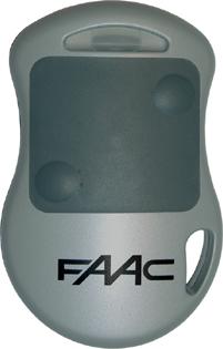 Radiocomando apricancello TX 2 CH 868 MHZ HOPPING CODE MASTER FAAC-0