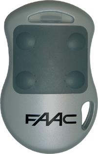 Radiocomando apricancello TX 4 CH 868 MHZ HOPPING CODE MASTER FAAC-0