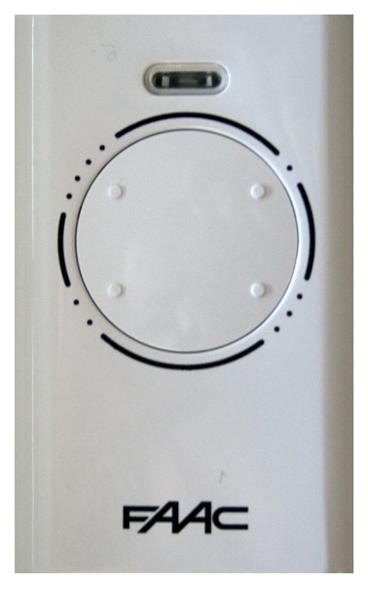 Radiocomando apricancello TX 4CH 868MHZ SLH MASTER FAAC XT4868SLH XT4868SLH -0