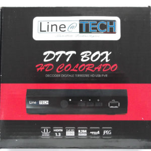 DECODER DIGITALE TERRESTRE HD USB PVR,LINE@TECH MODELLO COLORADO -0