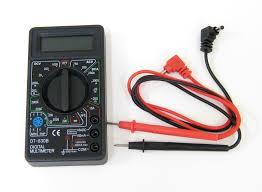 Multimetro Tester Provabatterie DT-830B-0
