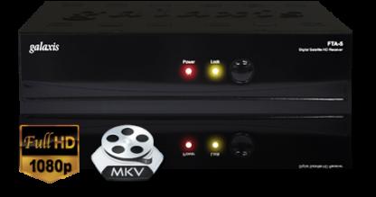 DECODER SATELLITARE FULL HD GALAXIS FTA-5 USB-0