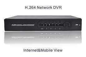 H.264 NETWORK DVR HD-5504 VIDEOREGISTRATORE CON HARD DISK-0
