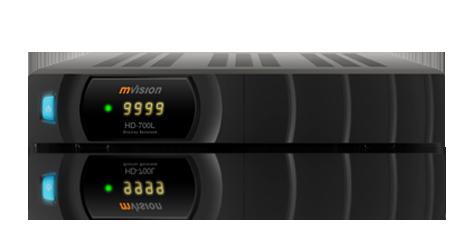 DECODER MVISION HD 700 LINUX SATELLITARE USB PVR SCR -0