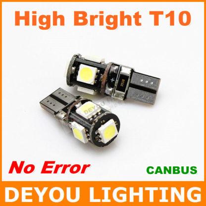 LAMPADA LED T10 5SMD CANBUS 2 PZ-0