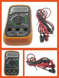 Multimetro Tester Provabatterie MAS-830L con buzzer !!!-0