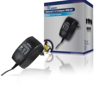 Alimentatore switching 3 - 12 V 1000 mAh-0