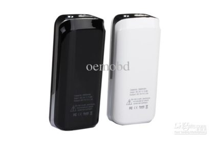 Power Bank 5600mAh IP036 crystal black/white portable -0