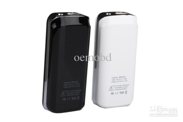 Power Bank 20000mAh IP036 crystal black/white portable -0
