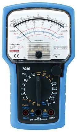 Lafayette 7040/7017 Multimetro analogico con 6 funzioni, 16 portate, misura dei decibel-0