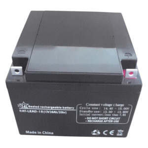 Batteria al piombo da 12 V 26 Ah-0